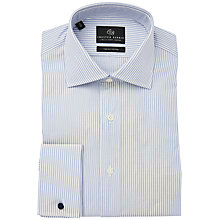 Buy Chester Barrie Stripe Shirt, Blue Online at johnlewis.com