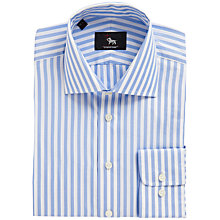 Buy Chester by Chester Barrie Butcher Stripe Shirt, Blue Online at johnlewis.com