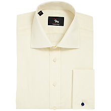Buy Chester by Chester Barrie Long Sleeve Poplin Shirt, Cream Online at johnlewis.com
