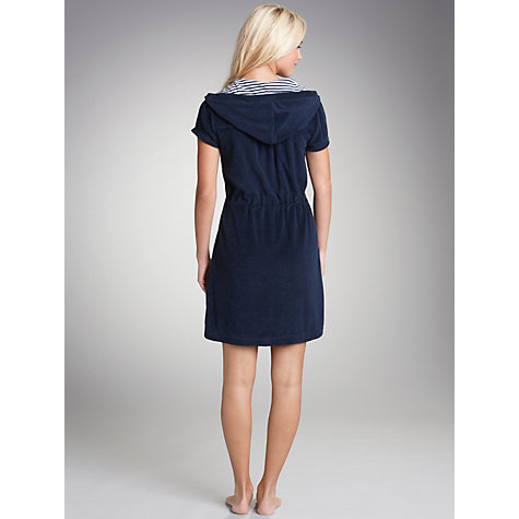 Buy John Lewis Terry Zip Up Towelling Robe Online at johnlewis.com