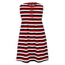 Buy John Lewis Towelling Bandeau Dress, Multi Online at johnlewis.com