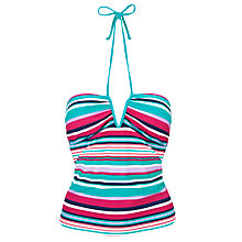 Buy John Lewis California Stripe Tankini Top Online at johnlewis.com