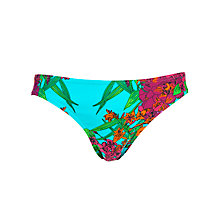 Buy John Lewis Tropical Garden Bikini Briefs Online at johnlewis.com