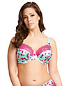 Elomi Valentina Plunge Bra, Sea Breeze