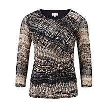 Buy CC Printed Mesh Top, Multi Online at johnlewis.com