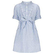 Buy John Lewis Girl Candy Stripe Shirt Dress, Blue Online at johnlewis.com