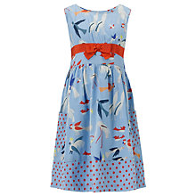 Buy John Lewis Girl Seagull Dress, Blue Online at johnlewis.com