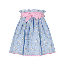 Buy John Lewis Girl Daisy Chain Skirt, Blue Online at johnlewis.com