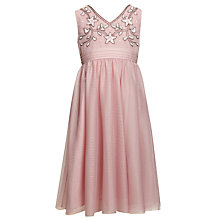 Buy John Lewis Girl Party Dress, Pink Online at johnlewis.com