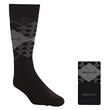 Buy Hugo Boss Diamond Socks, Pack of 2 Online at johnlewis.com