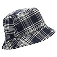 Buy John Lewis Reversible Fisherman's Hat, Navy Online at johnlewis.com