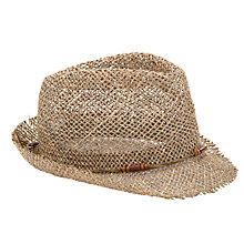 Buy John Lewis Bead Festival Hat, Stone Online at johnlewis.com