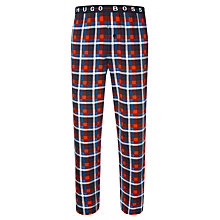 Buy Hugo Boss Woven Check Lounge Pants Online at johnlewis.com