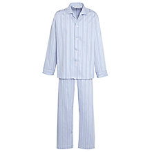 Buy Derek Rose Satin Stripe Lounge Set Online at johnlewis.com