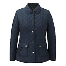 Buy Viyella Quilted Jacket, Navy Online at johnlewis.com