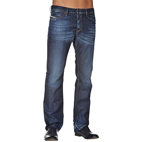 Buy Diesel Waykee 806U Tapered Jeans, Vintage Wash Online at johnlewis.com