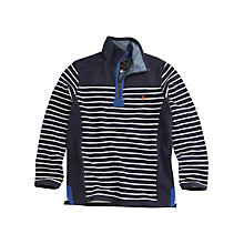 Buy Joules Fletcher Stripe Jumper, Navy Online at johnlewis.com