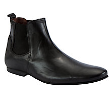Buy Dune Cabo Chelsea Boots, Black Online at johnlewis.com
