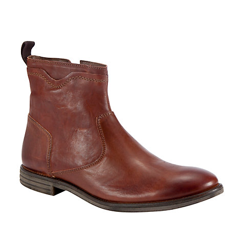 Buy Dune Carlisle Boots, Tan Online at johnlewis.com