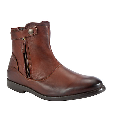 Buy Dune Caramac Boots, Tan Online at johnlewis.com