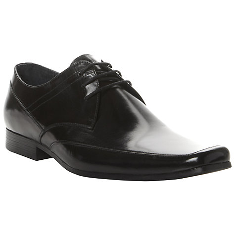 Buy Dune Ashwell Square Toe Formal Shoes, Black Online at johnlewis.com