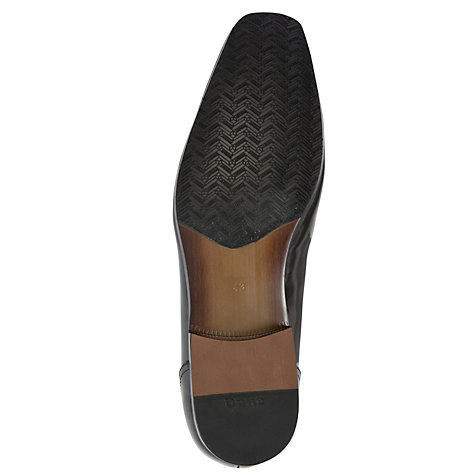 Buy Dune Atilla High Shine Loafers, Black Online at johnlewis.com