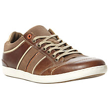 Buy Dune Toretto Side Stripe Leather Trainers Online at johnlewis.com