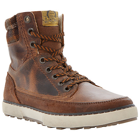 Buy Dune Shearer Boots, Tan Online at johnlewis.com