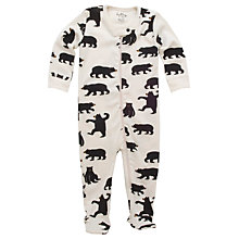 Buy Hatley Bear Sleepsuit Online at johnlewis.com