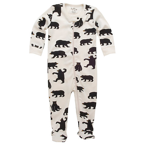 Buy Hatley Bear Coverall, Cream Online at johnlewis.com