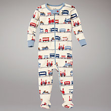 Buy Hatley Train Coverall, Multi Online at johnlewis.com