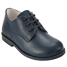 Buy John Lewis Boy Ed Lace Up Shoes, Navy Online at johnlewis.com