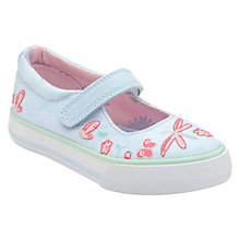 Buy Start-rite Amalfi Canvas Shoes, Blue Online at johnlewis.com