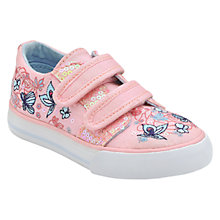 Buy Start-rite Sorrento Canvas Trainers, Pink Online at johnlewis.com