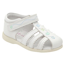 Buy Start-rite Cadenza Sandals, White Online at johnlewis.com