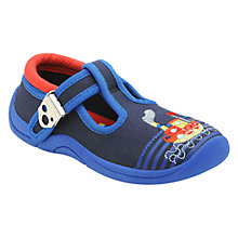 Buy Start-rite Gone Fishing Canvas Shoes, Navy Online at johnlewis.com