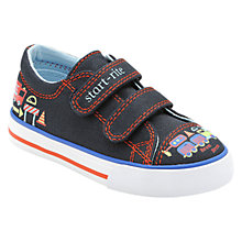 Buy Start-rite Road Works Shoes, Navy Online at johnlewis.com
