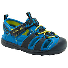 Buy Clarks Beach Fun Sandals, Blue Online at johnlewis.com
