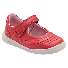 Buy Start-rite Flexy Soft Feather Shoes, Red Online at johnlewis.com
