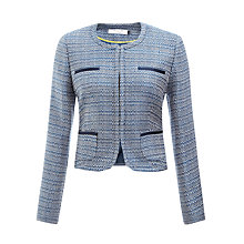 Buy COLLECTION by John Lewis Olivia Jacket, Blue Online at johnlewis.com
