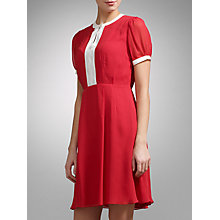 Buy Somerset by Alice Temperley Contrast Trim Silk Dress Online at johnlewis.com