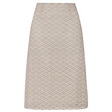 Buy Somerset by Alice Temperley Cutwork Skirt, Biscuit Online at johnlewis.com