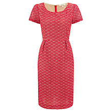 Buy Somerset by Alice Temperley Cutwork Dress, Red Online at johnlewis.com