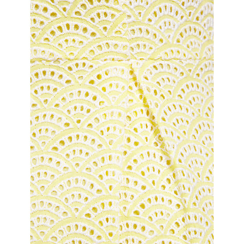 Buy Somerset by Alice Temperley Cutwork Dress, Yellow Online at johnlewis.com