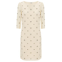 Buy Somerset by Alice Temperley Beaded Dress, Cream Online at johnlewis.com