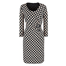 Buy Gerry Weber Geo Spot Wrap Belted Dress Online at johnlewis.com