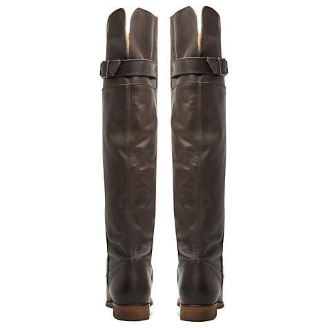 Buy Bertie Tanty Full Grain Leather Knee Boots Online at johnlewis.com