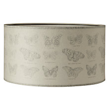 Buy John Lewis Butterfly Parchment Drum Shade Online at johnlewis.com