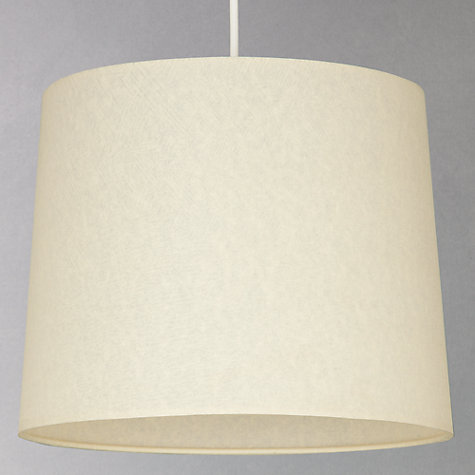 Buy John Lewis Parchment Drum Lampshade Online at johnlewis.com