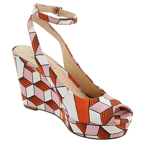 Buy Clarks Scent Eley Wedge Sandals Online at johnlewis.com